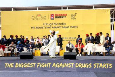Lanzamiento de la campaña: India libre de drogas